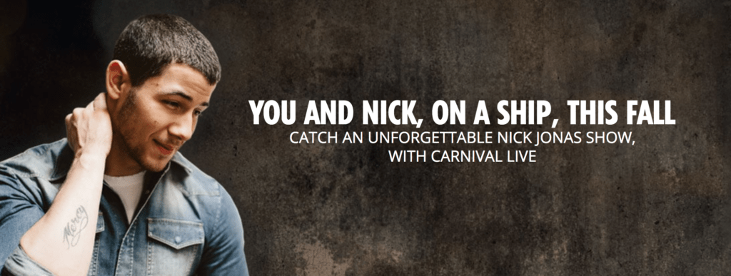Cruising to Another Adventure: #CarnivalLive + Nick Jonas