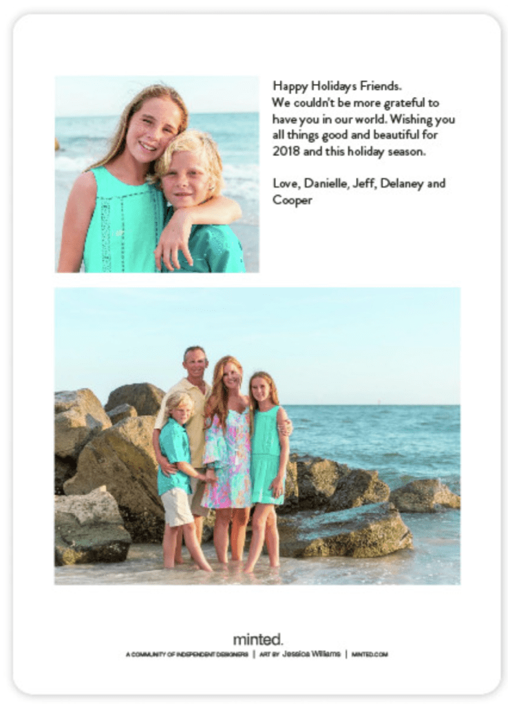 Experience the Perfect Holiday Card from Minted