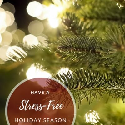 5 Tips for a Stress-Free Holiday Season