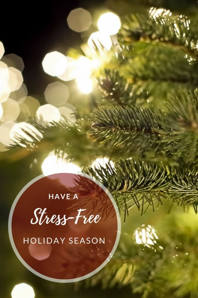 5 Tips for a Stress-Free Holiday Season (Pssst....it starts with ditching perfection!)