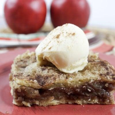 The Sweetest Dessert: Caramel Apple Bars
