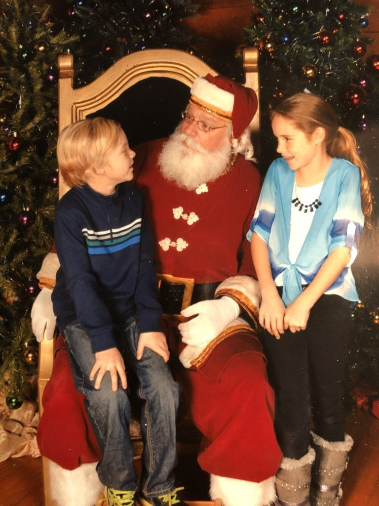 The Year of Disbelief - Christmas - Kids Santa 2014
