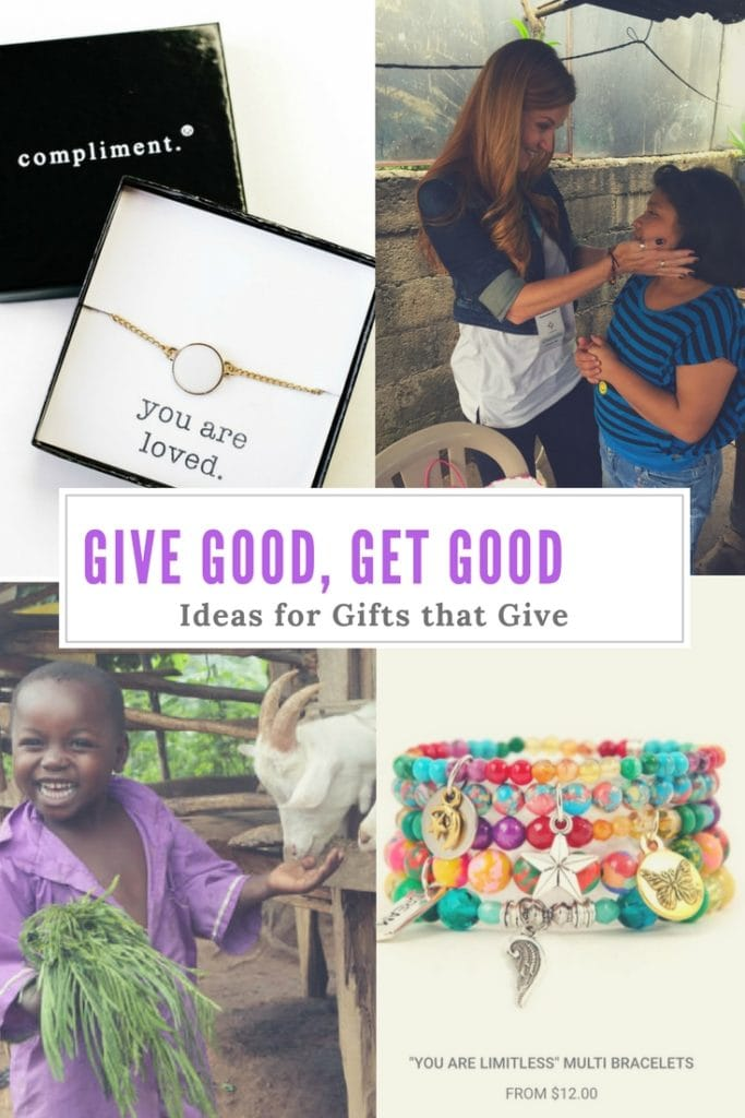 Give Good, Get Good: Gifts that Give