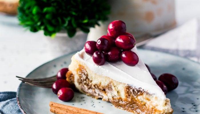 Amazing Dessert: Pumpkin Pie Cheesecake