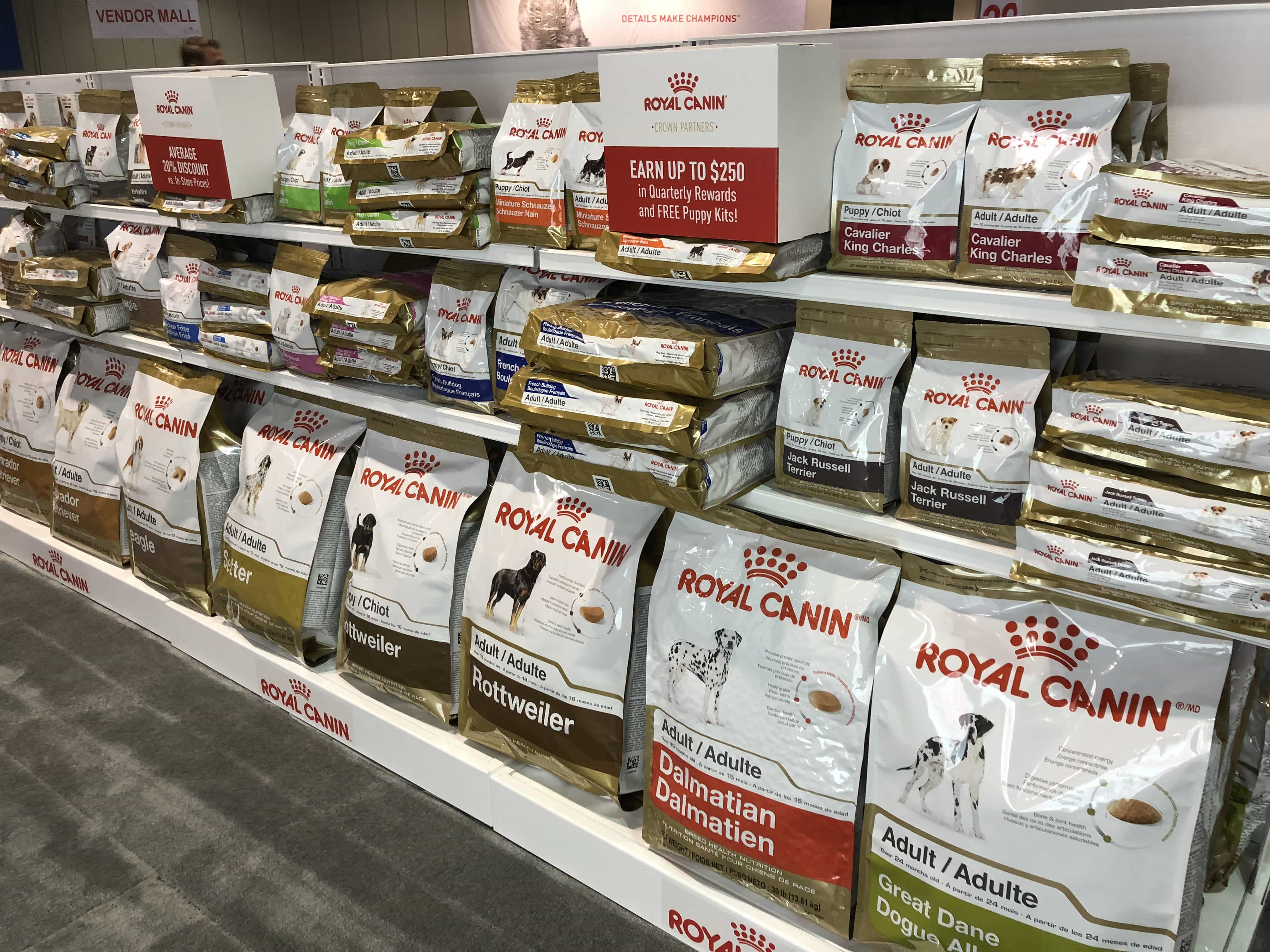 An Insider's Guide to the American Kennel Club Dog Show: Royal Canin Food
