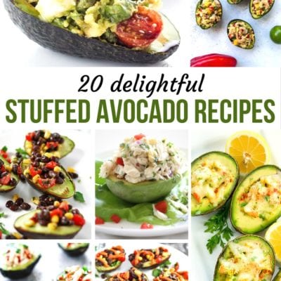 20 Delightful Stuffed Avocado Recipes