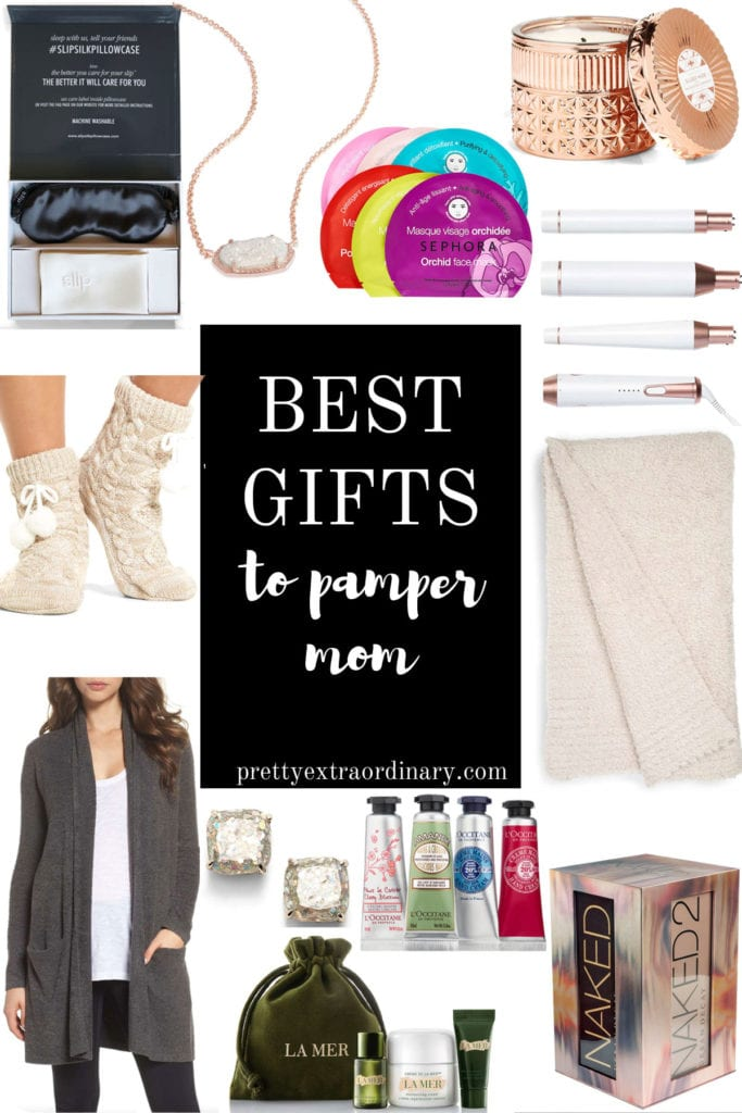 Best Gifts to Pamper Mom  - We have home, beauty and jewelry covered. Check out the throws and makeup palettes!