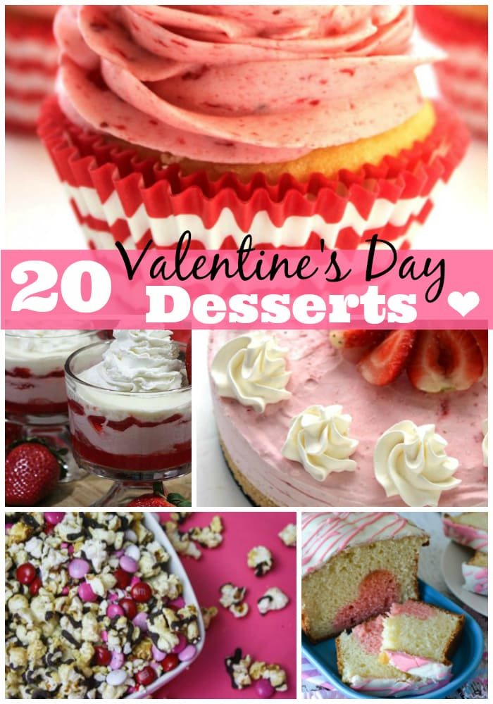20 Valentine\'s Day Desserts You Will Love - Pretty Extraordinary