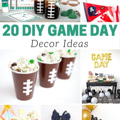 20 DIY Game Day Decor Ideas