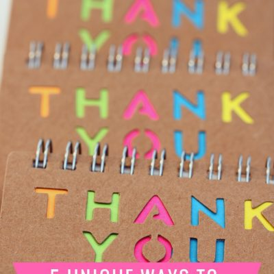 5 Unique Ways to Say Thank You