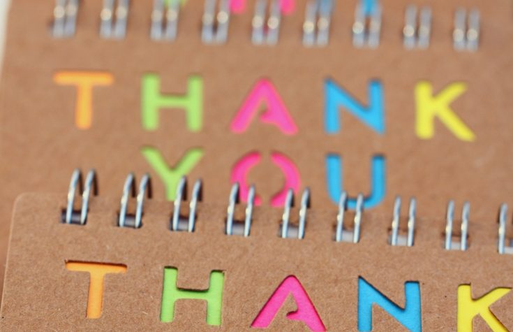 5 Unique Ways to Say Thank You - #3 is my favorite!