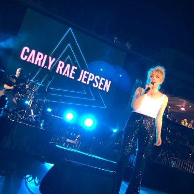 Cruising Carnival with Carly Rae Jepsen #CarnivalLive