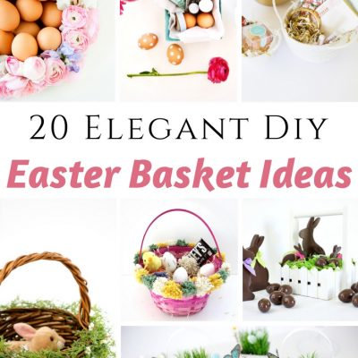 Elegant DIY Easter Basket Ideas