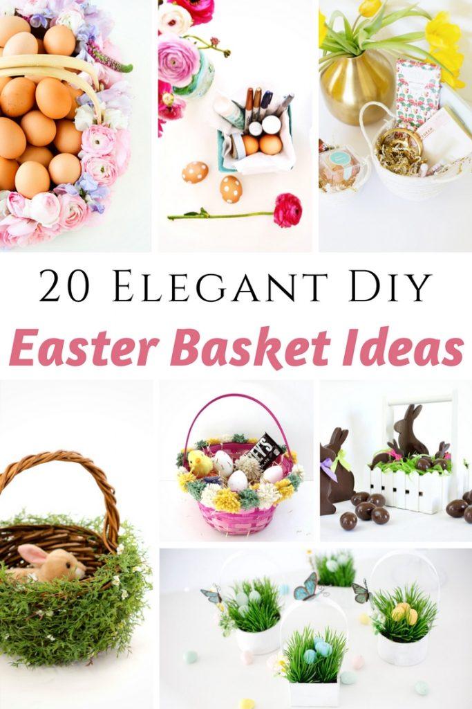 Elegant DIY Easter Basket Ideas