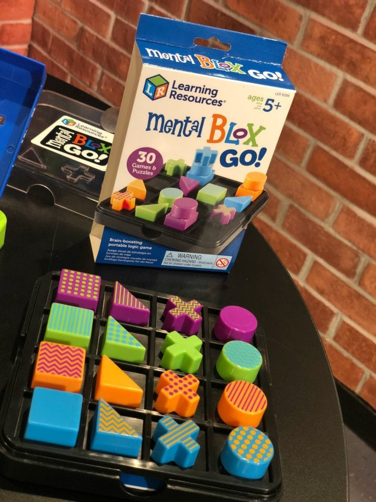 5 Educational Toys Under $15 for Road Trip Travel - Learning Resources Mental On the Go Blox