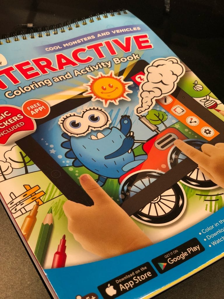 5 Educational Toys Under $15 for Road Trip Travel - ZIPIT Coloring and Activity Book