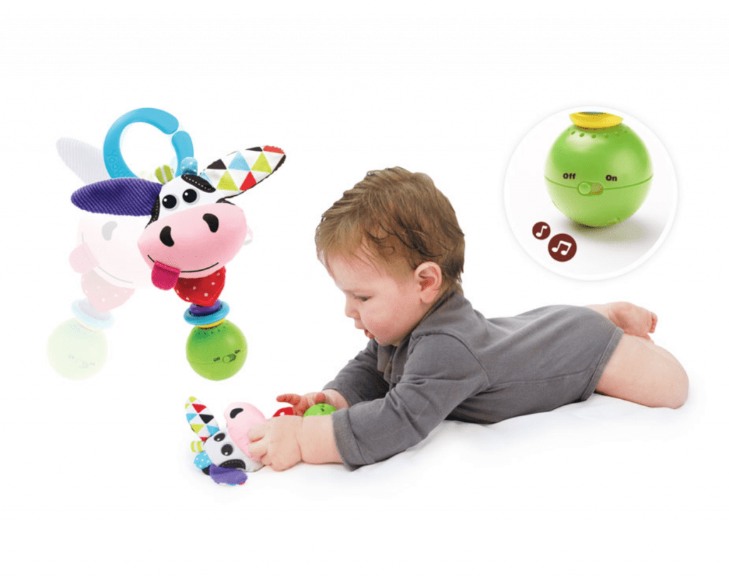 5 Educational Toys Under $15 for Road Trip Travel - Yookidoo Shake Me Rattle