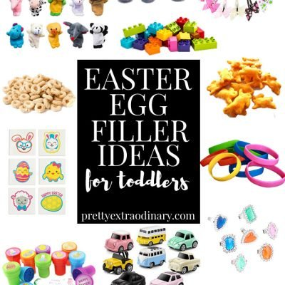 Cute Easter Egg Filler Ideas for Toddlers