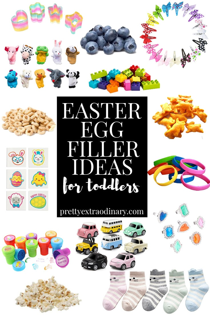 cute easter egg filler ideas for toddlers - pretty extraordinary