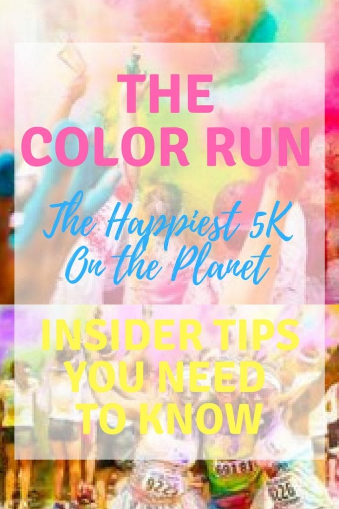 Color Run - The Happiest 5K on Earth: Insider Tips You Need + STL Giveaway #ColorRun #Happiest5k #TCRHero #5K