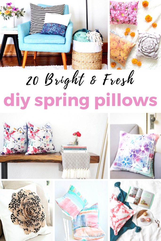 DIY Spring Pillows You Can Make