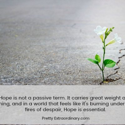 The High Calling of Hope