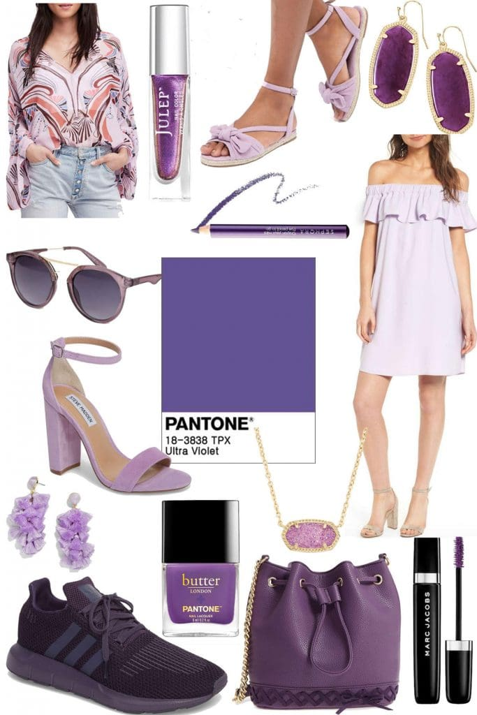 How to Wear Pantone's Color of the Year: Ultra Violet!