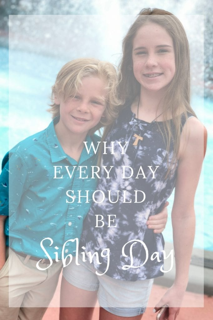 Delaney & Cooper - Why Every Day Should Be Sibling Day