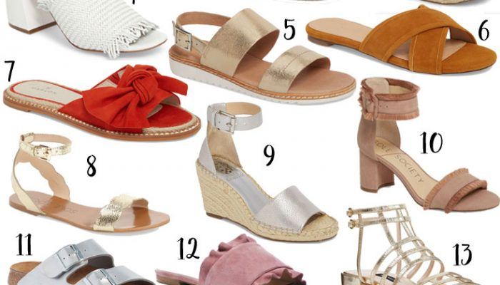 The Cutest Sandals for Summer