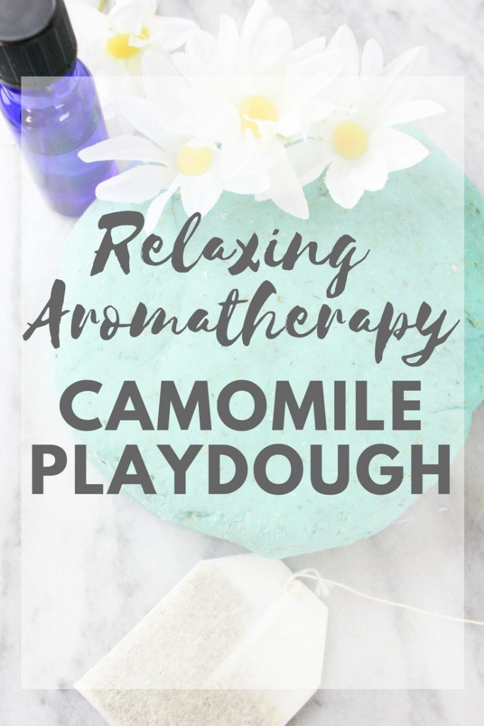 Relaxing Aromatherapy Camomile Playdough
