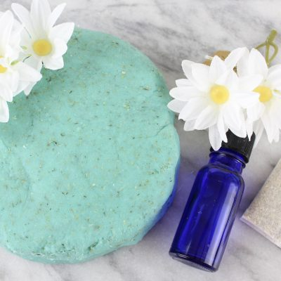 Relaxing DIY Aromatherapy Camomile Playdough