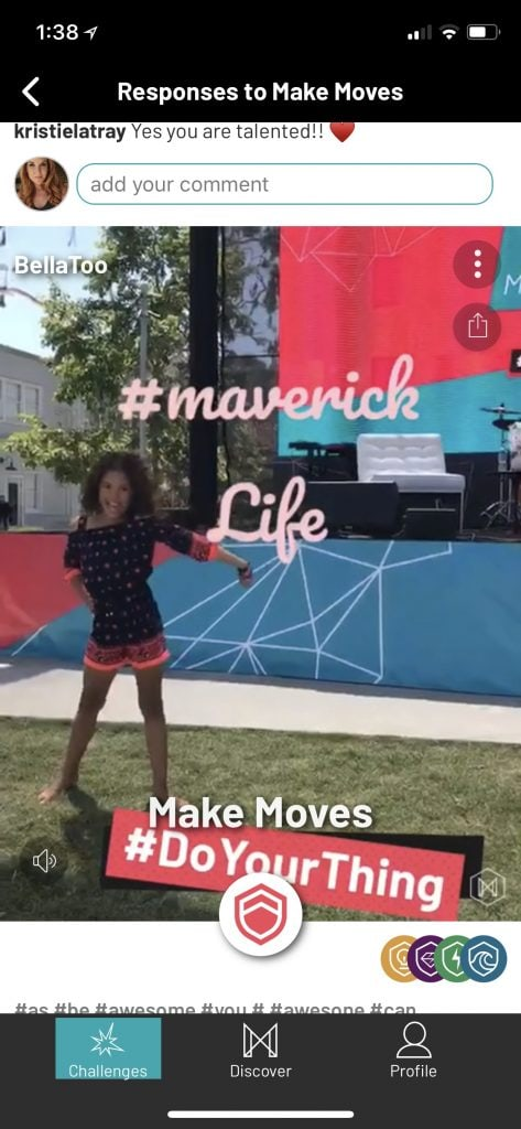 Maverick: Social Media Platform for Young Girls Encourages Confidence