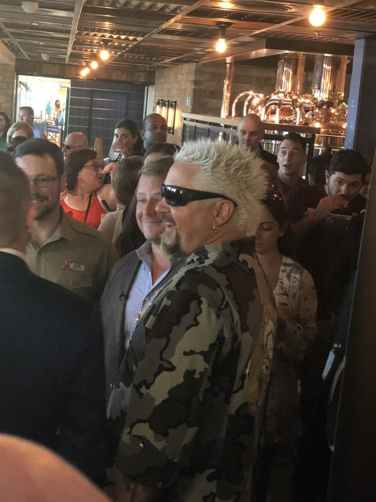Carnival Horizon Naming Ceremony - Guy Fieri