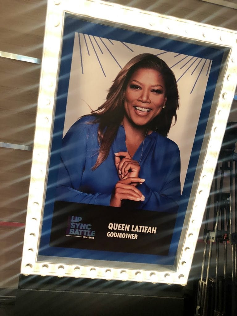 Carnival Horizon Arrives in NYC - Official Naming Ceremony - Queen Latifah