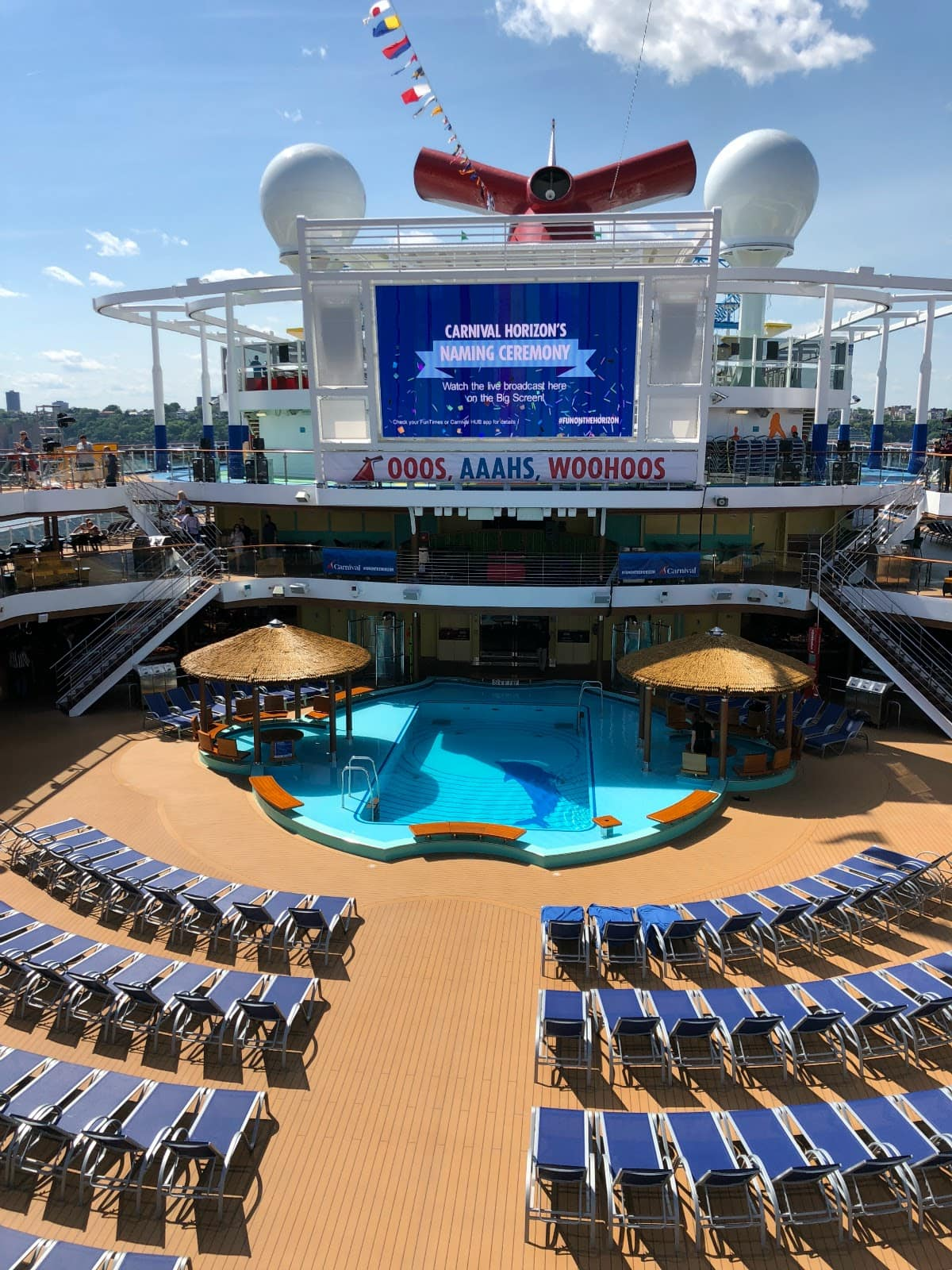 Carnival Horizon Official Naming Ceremony In Nyc Pretty Extraordinary