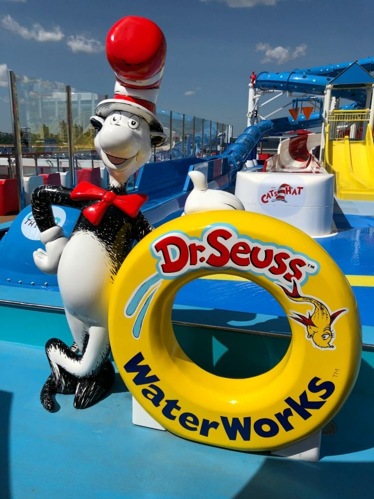 Carnival Horizon Arrives in NYC - Official Naming Ceremony - Dr. Seuss Waterworks