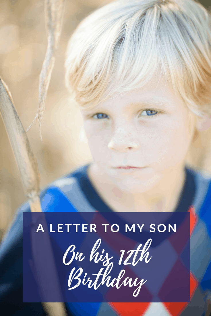 A Letter to My Son on his 12th Birthday: One Dozen Reasons You're Special
