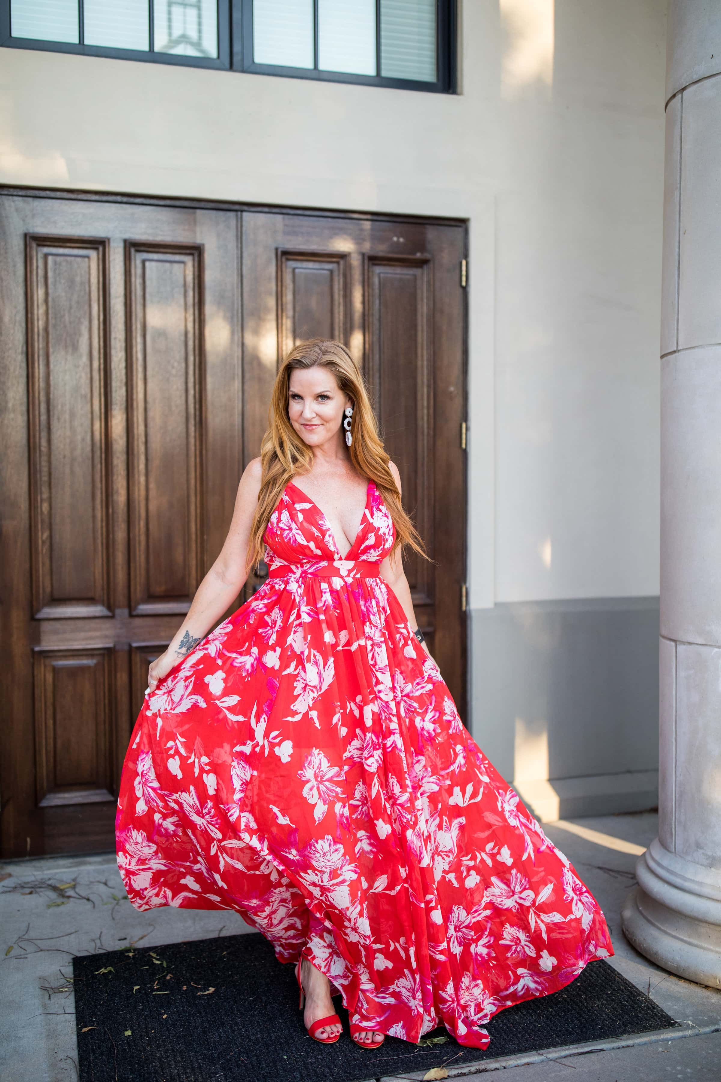 The Red Maxi Dress You Need for Summer