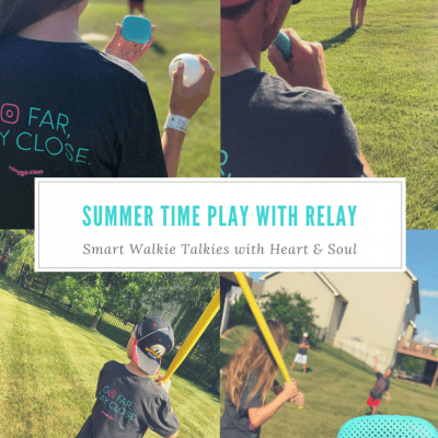 Summertime Play with Relay: Smart Walkie Talkies with Heart and Soul