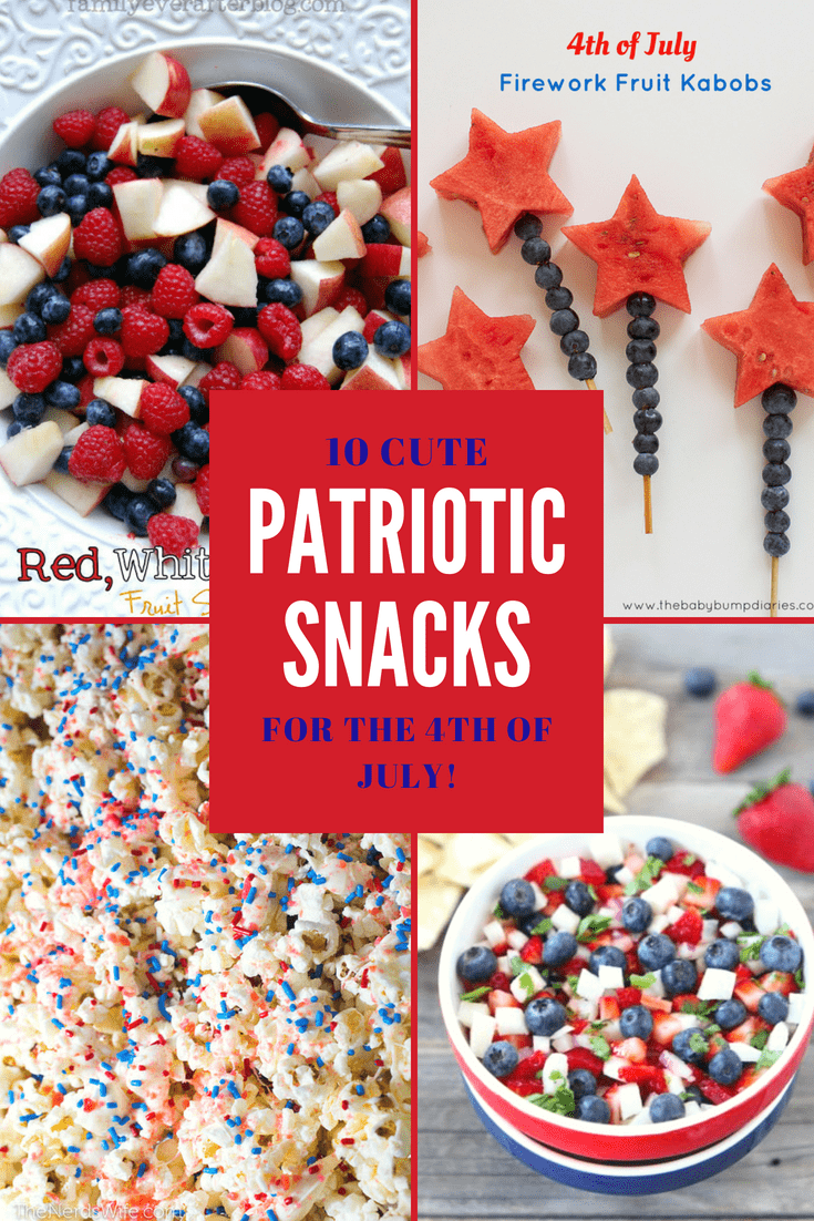 10 Easy 4th of July Snack Ideas