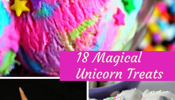 18 Magical Unicorn Treats