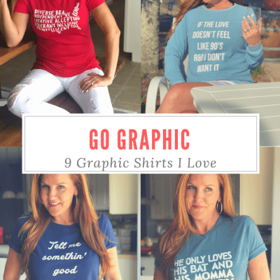 Go Graphic – 9 Graphic Shirts I Love