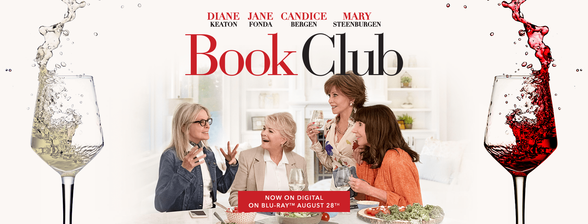 Girls' Night In: The Perfect Frosé, Baked Brie + Book Club the Movie #BookClub