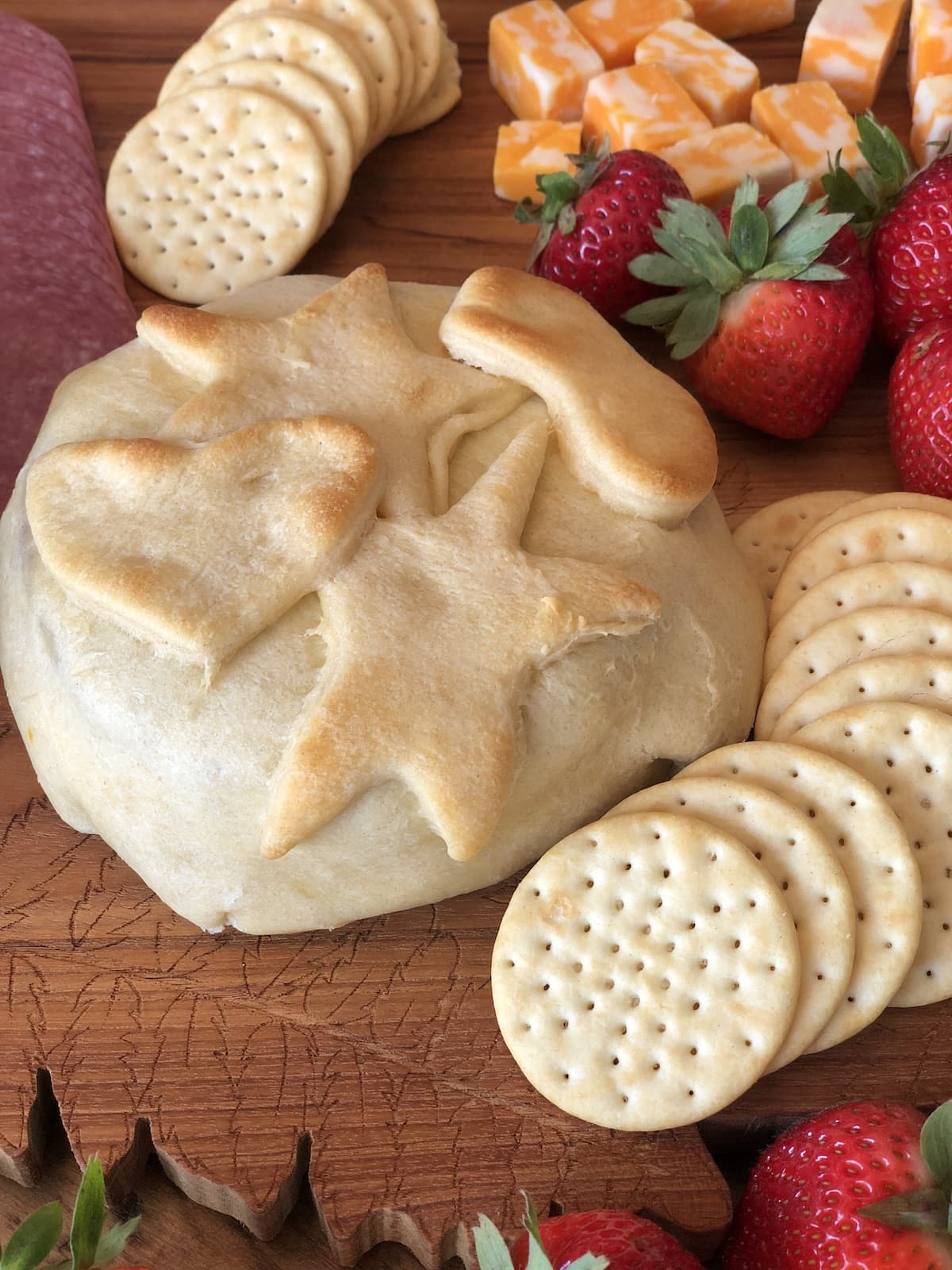 Girls Night In: The Perfect Baked Brie with Jam