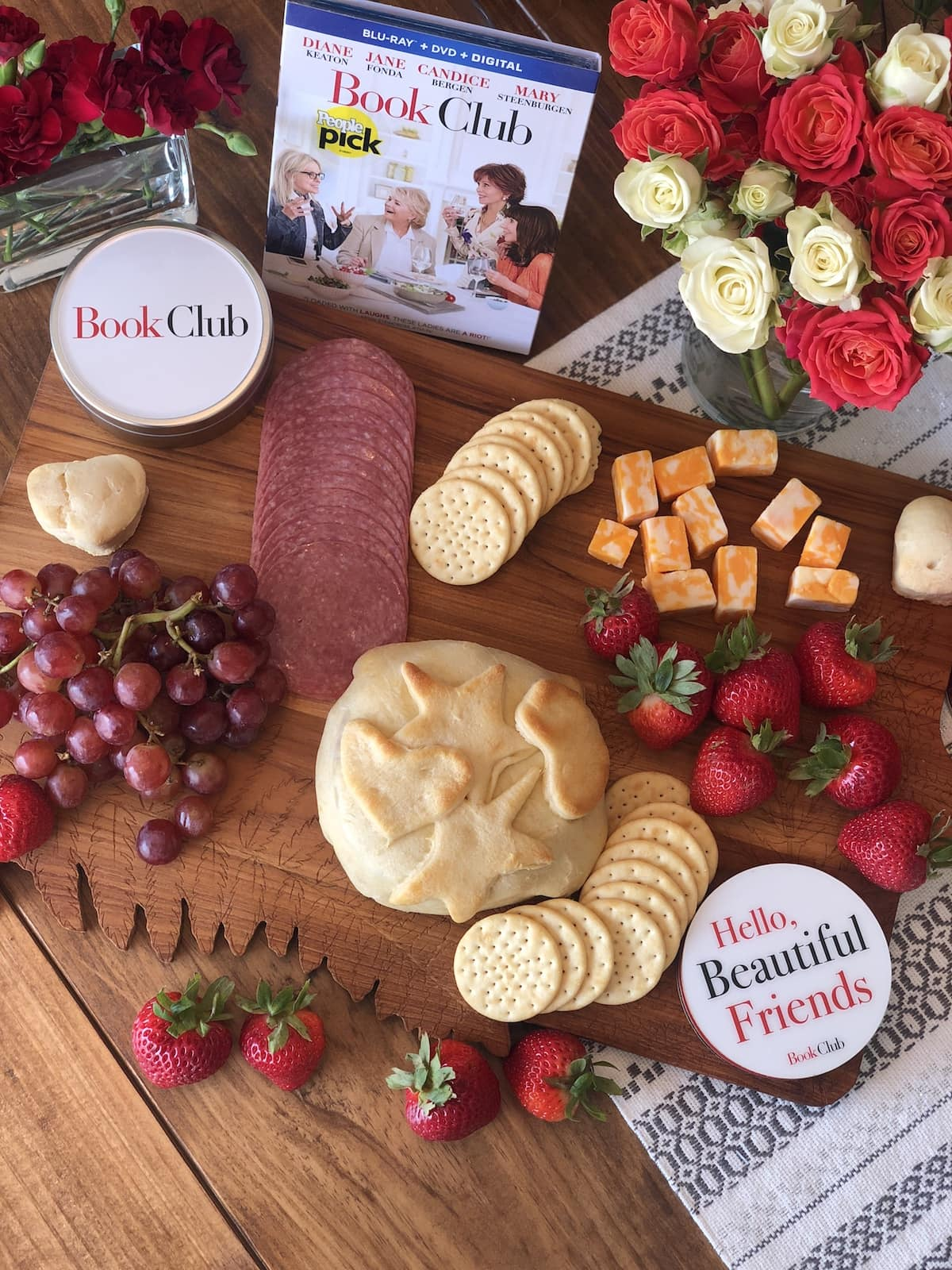 Girls Night In: The Perfect Frosé, Baked Brie + Book Club the Movie #BookClub