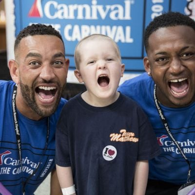 Hope is Alive at St. Jude's Children's Hospital: Carnival Chooses Fun at Annual Day of Play