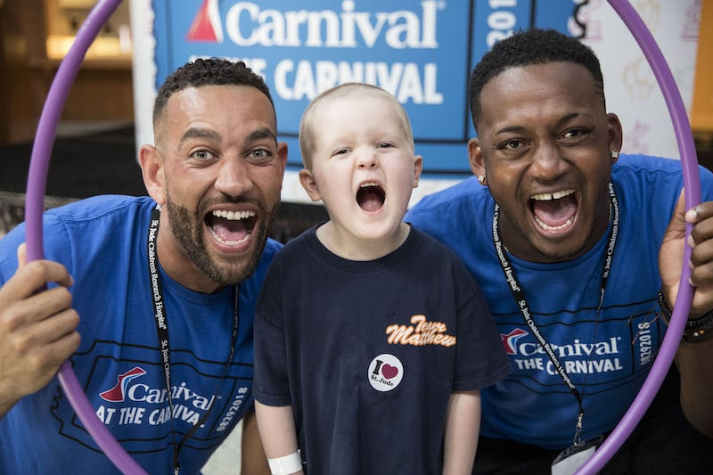 Hope is Alive in the Hallways of St. Jude's Children's Hospital: Carnival Chooses Fun at Annual Day of Play