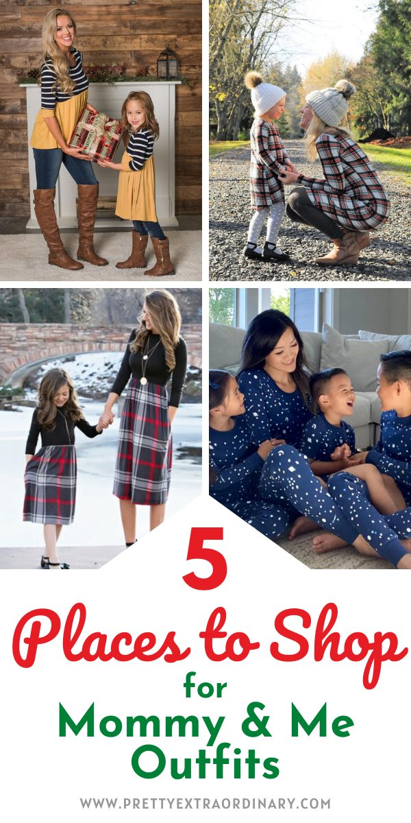 5 Places to Shop for Mommy and Me Outfits for the Holidays
