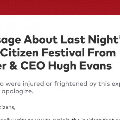 False Alarm or Not - This Experience was Terrifying - The Global Citizen Festival 2018