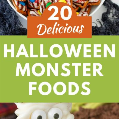 20 Delicious Halloween Monster Foods Your Family Will Love